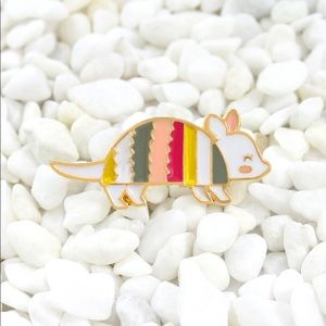 Jewelry - Armadillo Enamel Pin
